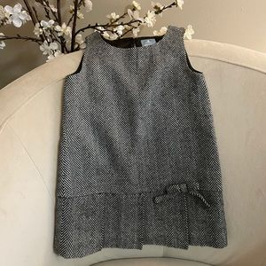 Baby Gap Wool Blend Tweed Sleeveless Shift Dress